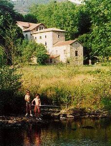 PROPRIETE CEVENOLE EN PLEINE NATURE - Chamborigaud - Casa