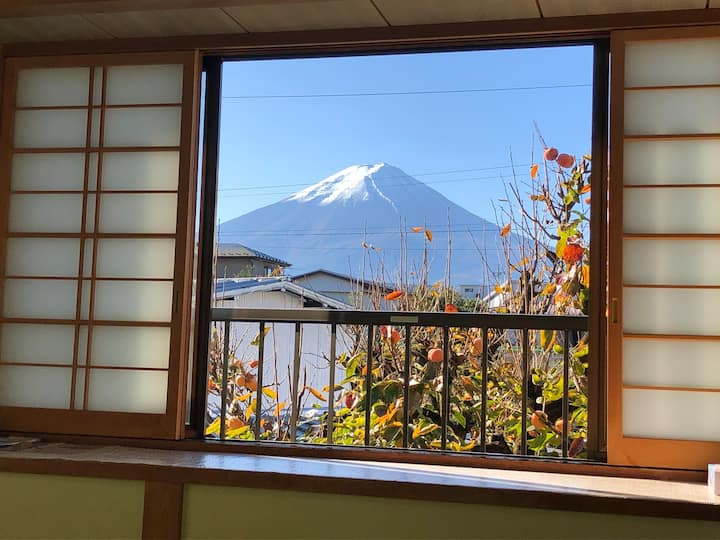 Yasuragiso(Mt.Fuji view room)  Near Lake & Onsen