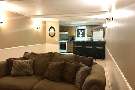 Private Mother-In-Law Suite near Mall & Airport - Bloomington - Leilighet