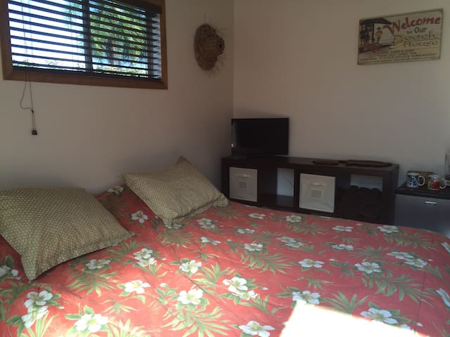 Comfortable room, great location,  breakfast incl