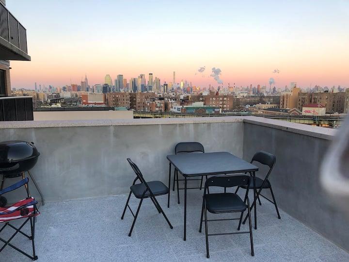 Hermoso Penthouse con terraza privada.
