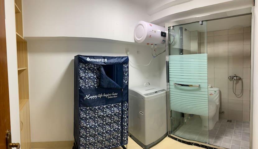 兩房 华侨大学旁香港城 山景  智能门锁 48平大空间兩房兩浴一卫