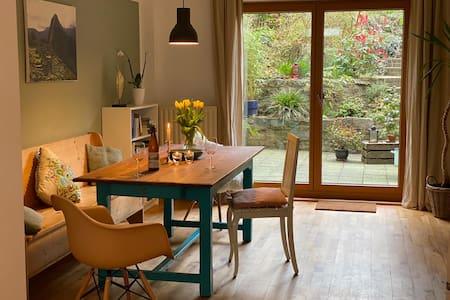 Aachen Vaals - eigene Luxus Sauna & grüne Terrasse