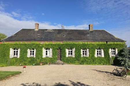 Maison de maître en Baie de Somme - Favières - House