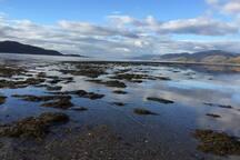 Loch Linnhe, low tide.