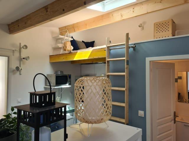 ancien lavoir transformé en studio de charme