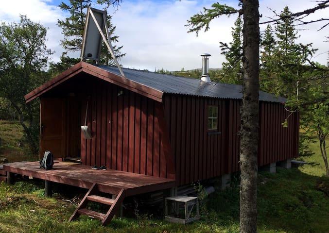 Nostalgisk Hytte i fjellet, Lierne; Rinnarbu