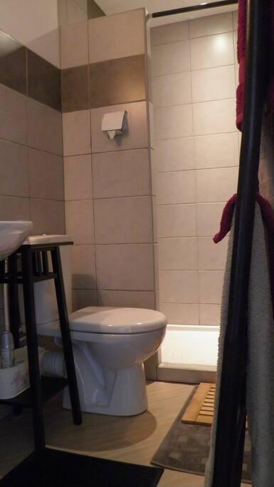 SDB /WC dans la chambre