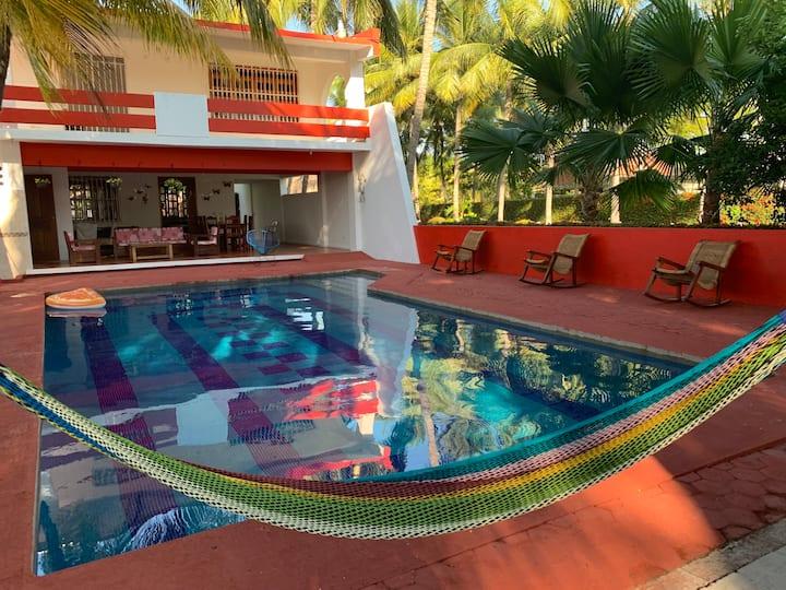 Casa de descanso en Playa Linda