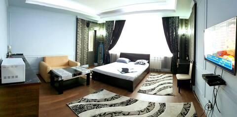 Элитная 1 комнатная, в новом доме,по Кунаева