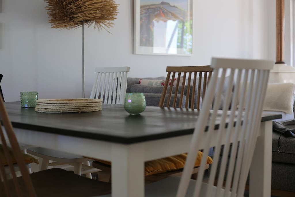 Six seater table