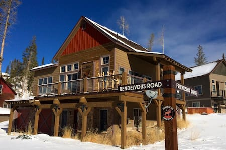 Mountain Cabin With Amazing Views - 弗雷泽(Fraser) - 独立屋