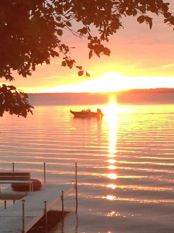 Sandy Beach Lake Miltona family cabin