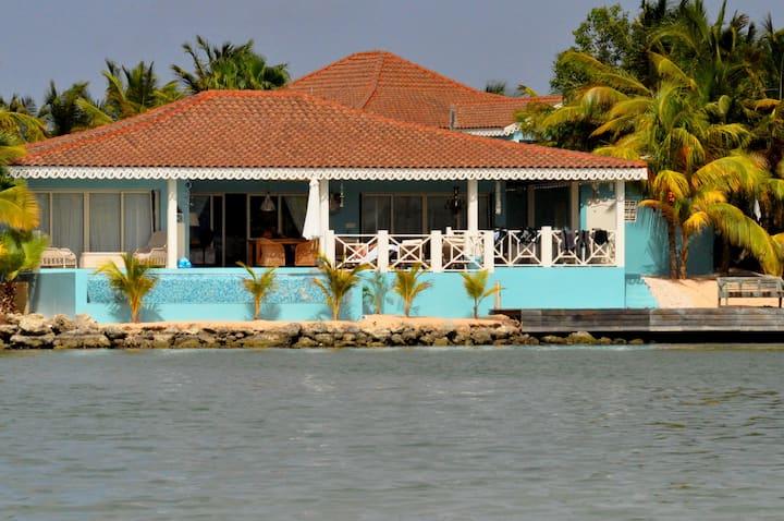 Villa Cepheus  en de pelikanen
