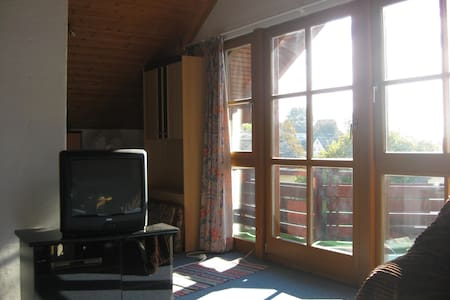 Ruhiges Zimmer im Hinterland des Bodensees - Helt våningsplan
