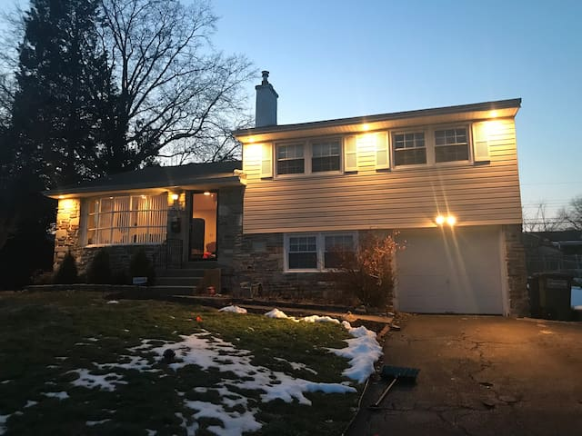 Lovely home close to Parx Casino and Sesame place