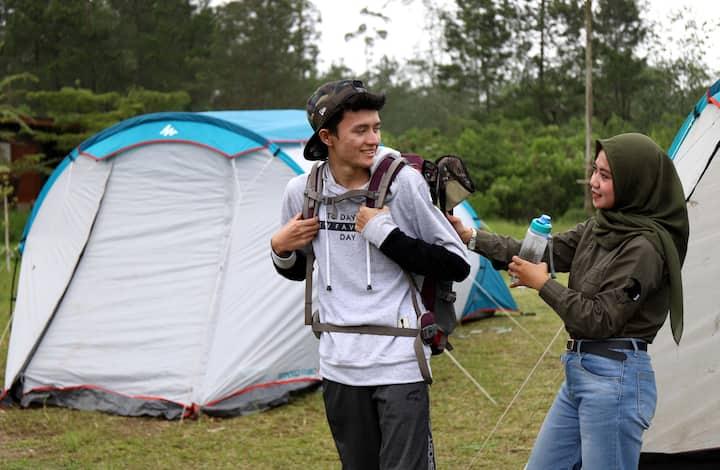 Kemping Mewah Ranca Upas Ciwidey Bandung