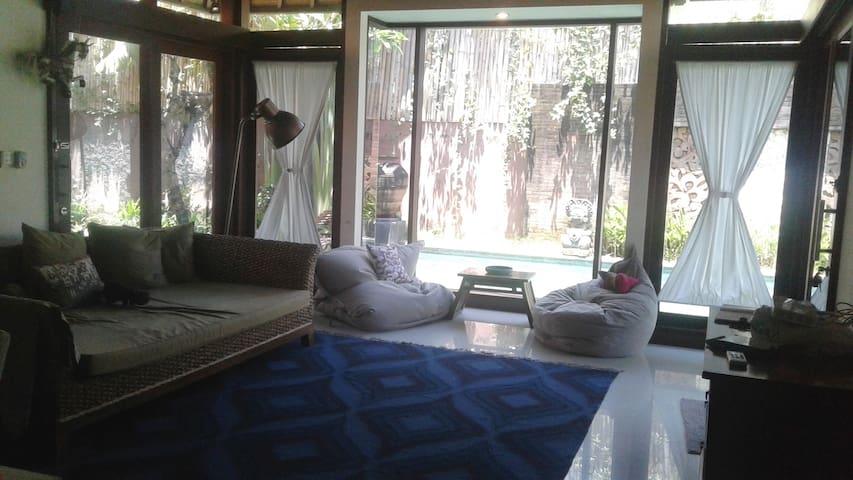 Beautiful Guest House, part of Villa grounds - South Denpasar - Villa