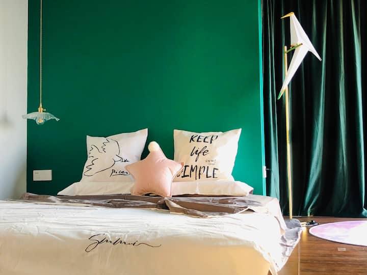 【舍予】临海惬意私享/卧室落地窗观海/山海环抱