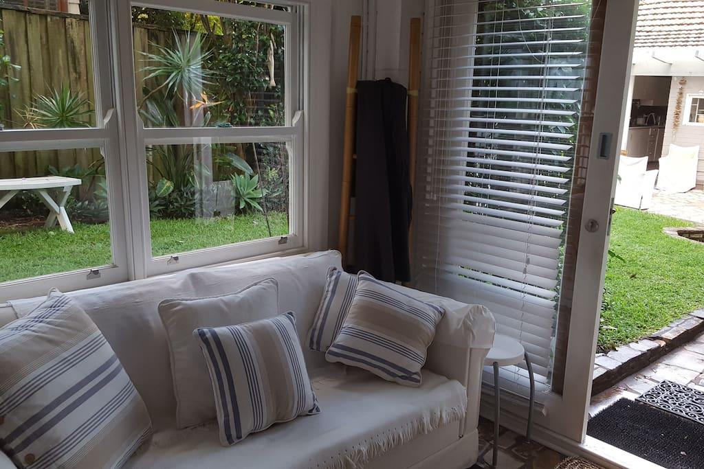 Studio sitting room