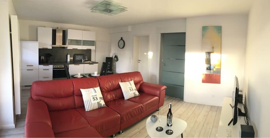 Dock 54, new modern Apparment with terrace - Eckernförde - Apartamento