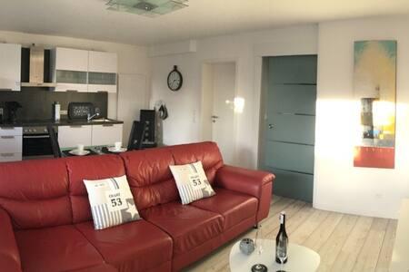 Dock 54 , Moderne Wohnung mit Terrasse und WLAN - Eckernförde