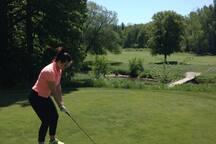 Warkworth Golf Course (15 mins away!)