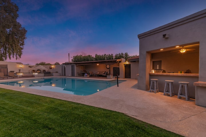 SANTA FE VILLA+CASITA+MASSIVEPOOL+SPORTCOURT+VIEWS
