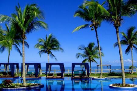Casa frente para praia Condominio Villa Oberoi - Santa Cruz Cabrália