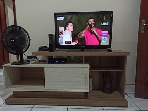 Apartamento 3 , confortável e bem localizado