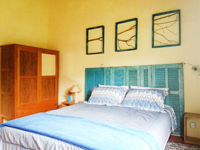 Simple* Double Room Azulão - Vida na Roça