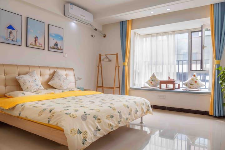 【蘑菇屋】东星高层,温馨、舒适大床房