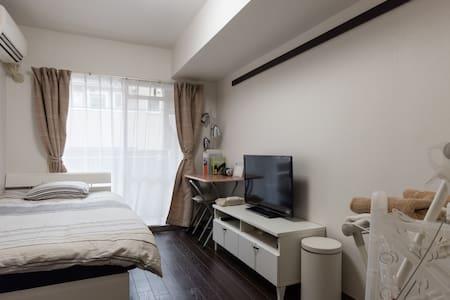 5min to SHIBUYA!Cozy dbl room w/Free Pocket Wi-Fi - Meguro-ku