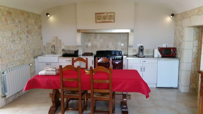 Ferme rénovée au coeur des vignes - Bourg-Saint-Andéol - Apartamento