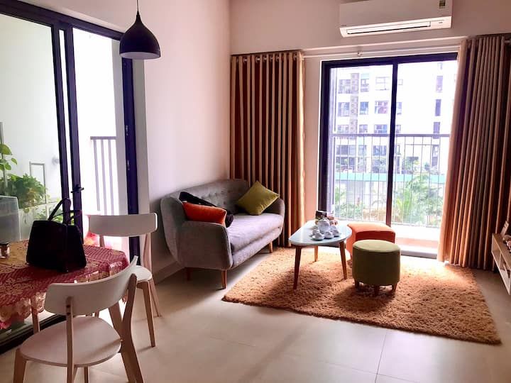 Cozy EcoPark Aquabay Apartment with Wind & Sun ⛅️