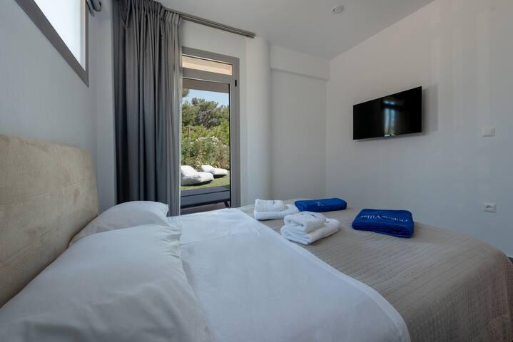 Master Bedroom Pool View Smart TV
