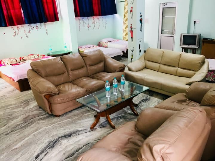 K - Farms- 5 Bed AC hostel