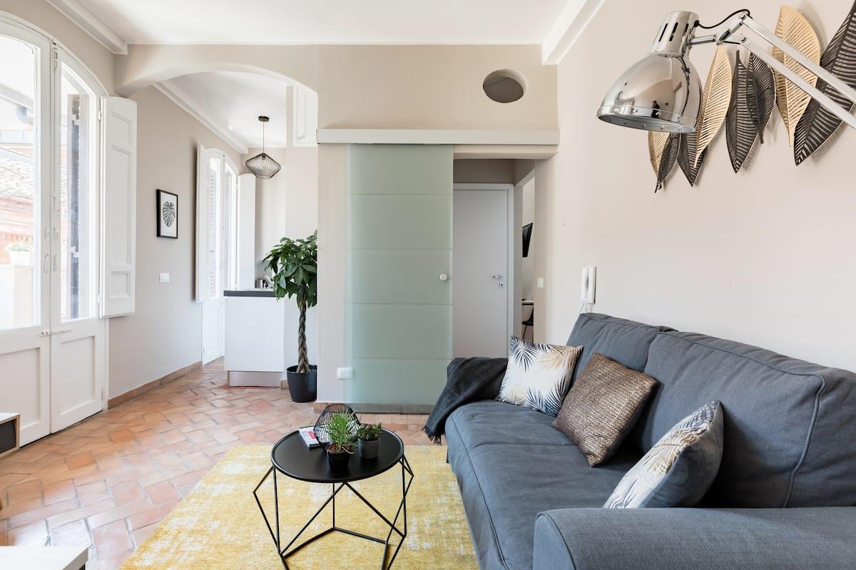 Maison Babuino delizioso attico con terrazzino a pochi passi da piazza di Spagna