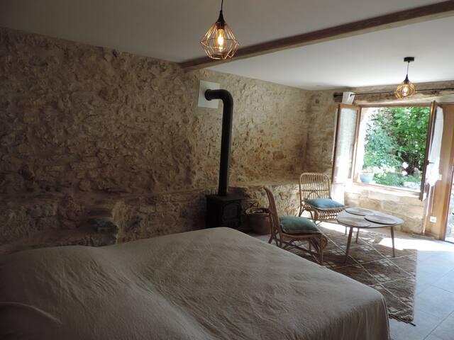 Chambre-studio des Jardins à foison