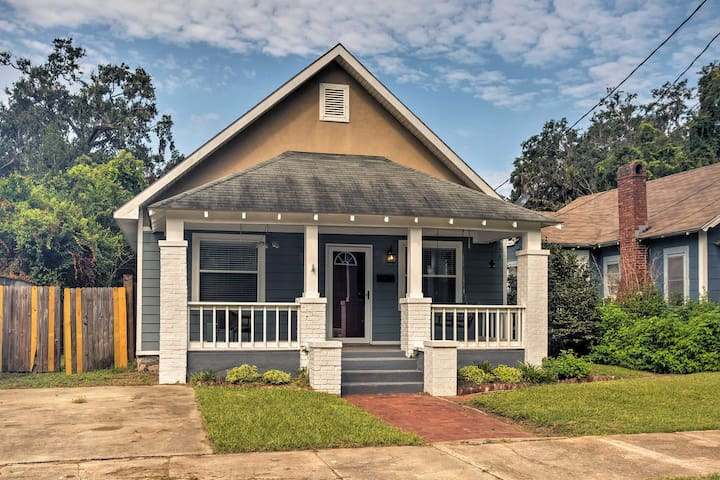 Brunswick Bungalow w/ Private Patio & Yard!