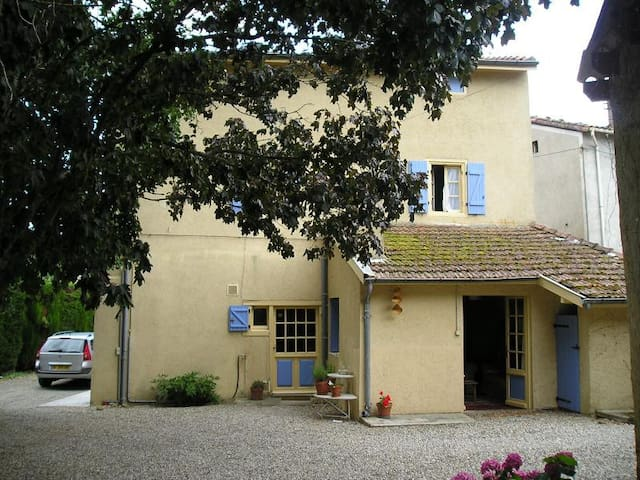 Charming Village House Close To Mirepoix - Arvigna - House