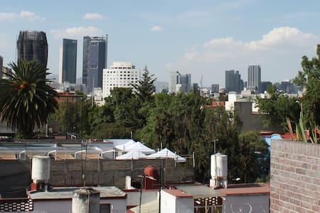 Micro loft urbano El Ángel: cultura y naturaleza - Ciudad de México - Apartment