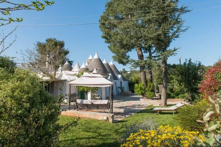 Antichi trulli con giardino - Selva di Fasano - FASANO - อื่น ๆ