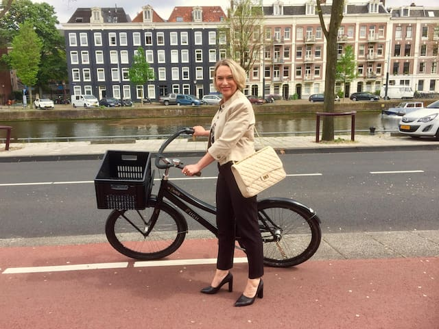 Explore 9 Hidden Fashion Secrets of Amsterdam By Bike With Annette!