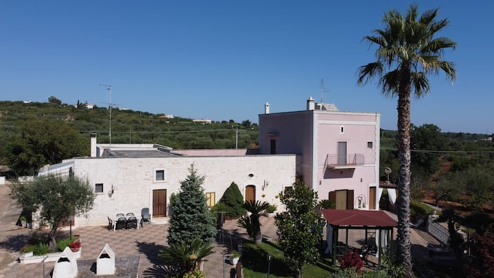 Villa in Puglia for 12 guests in six bedrooms