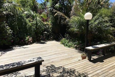 X Sunny Peaceful Tropical Oasis in Freemans Bay - Auckland - Townhouse