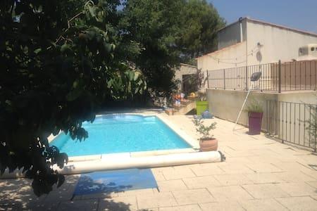 Villa avec piscine en provence verte - Nans-les-Pins - Huis