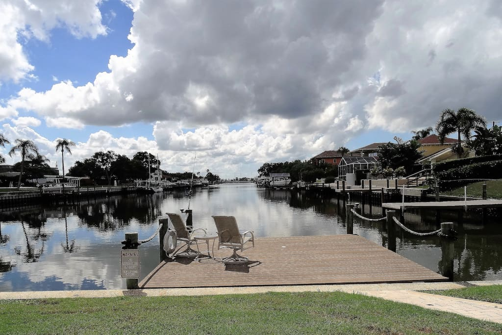 Fish, relax, launch the kayak or paddleboard