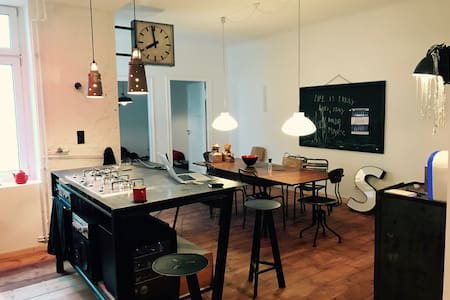 Big Artist Loft, WIFI - Berlin - Loft