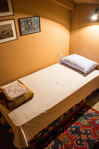 Bedroom #3 with one single bed